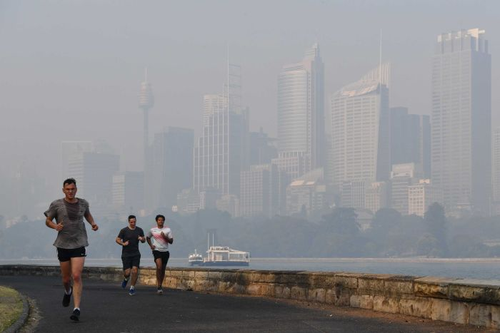 Smoke and hazardous air quality has affected many people living on the east coast of Australia. (AAP: Dean Lewins)