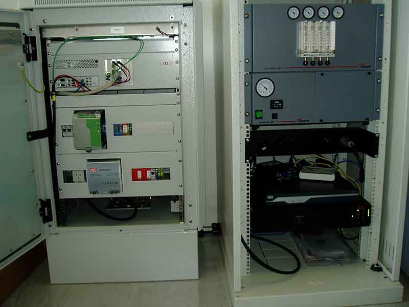 Mt Tumorrama Sensor Gnd Cabinet and Comms equipment