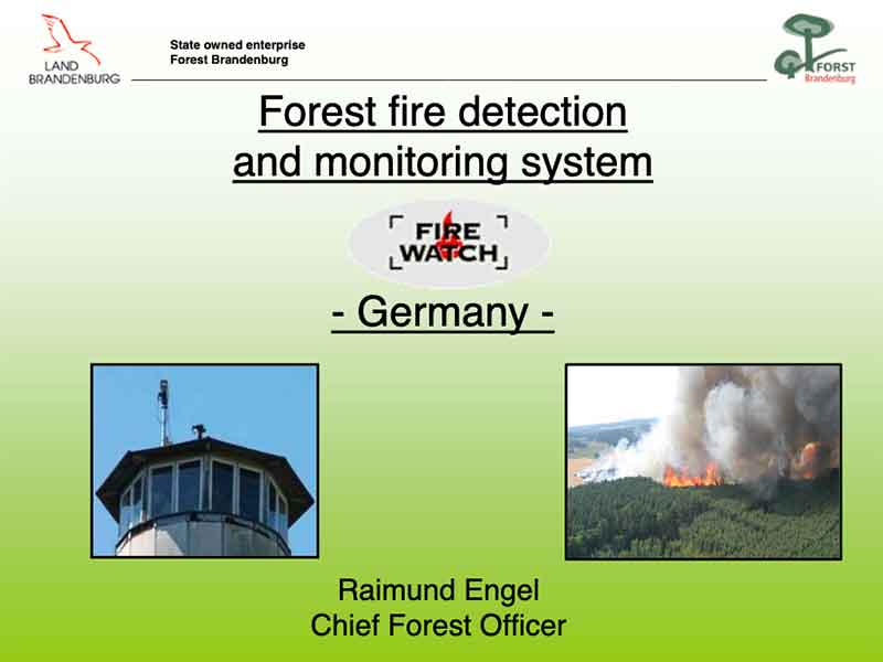 FireWatch in Germany