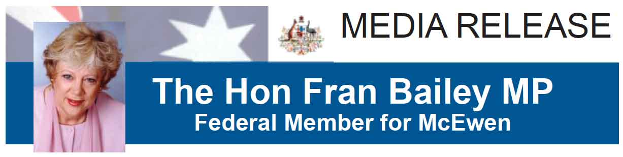 The Hon Fran Bailey MP - Media Release