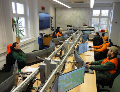Wildfire Management Live: Modernised Wood Fire Control Station with IQ Fire Watch